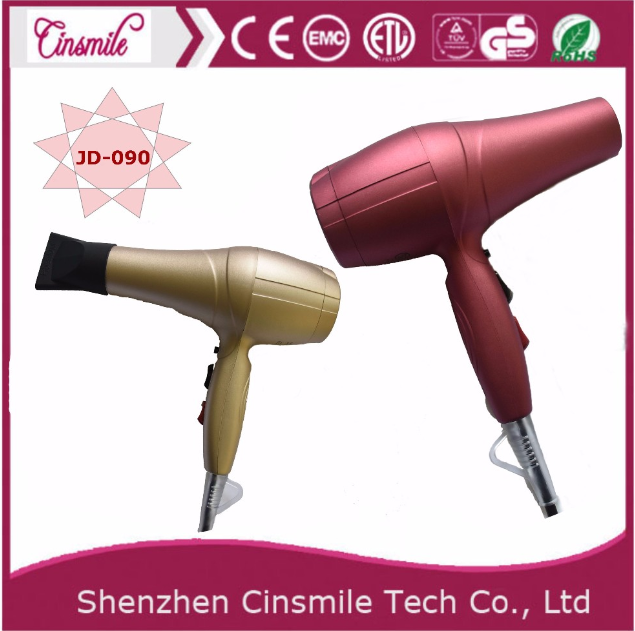 2 Speed 3 Heating Set Hair Dryer, hotel or home use Ionic hair dryer