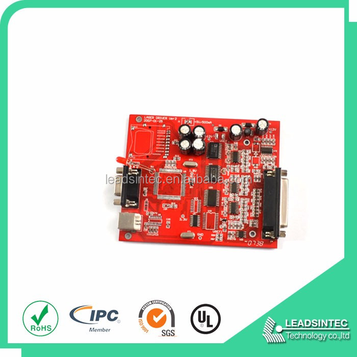 OEM led panel light pcb, usb lcd tv controller circuit boards assembly