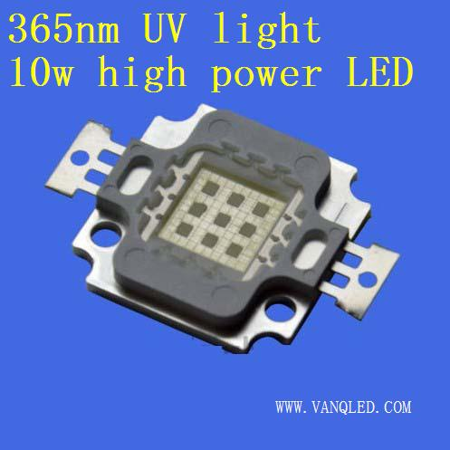 UV 365nm led 10w high power leds chips 3w 365nm nichia uv led