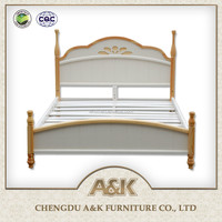 2016 latest children bed design Solid wood bed