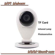 Mini WiFi 720P HD Wireless IP Camera Two Way Audio Home Security Network Camera Plug & Play iPhone Andriod