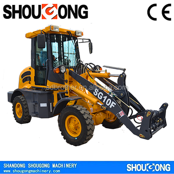 SHOUGONG SG10F 1000KG Chinese Mini Wheel Loader