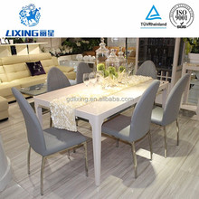 Luxury Furniture Modern 6 Seater Dining Table