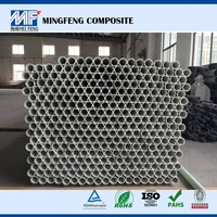 MF0030 FRP Pultrusion Profiles/ fiberglass round tube/hollow pipe for electric power industries