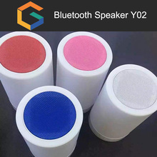 OEM brand HIFI Super Bass Stereo Sound bluetooth speaker TF USB AUX Night Light LED Wireless Mini Bluetooth Speaker Y02
