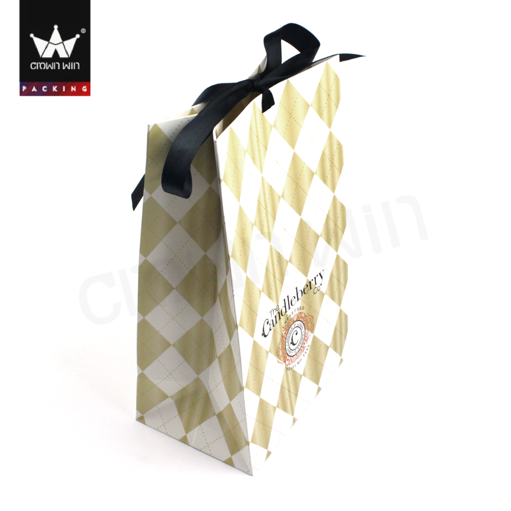 Hot sale colorful printing paper bag ,raw materials of paper bag Crownwin Packaging