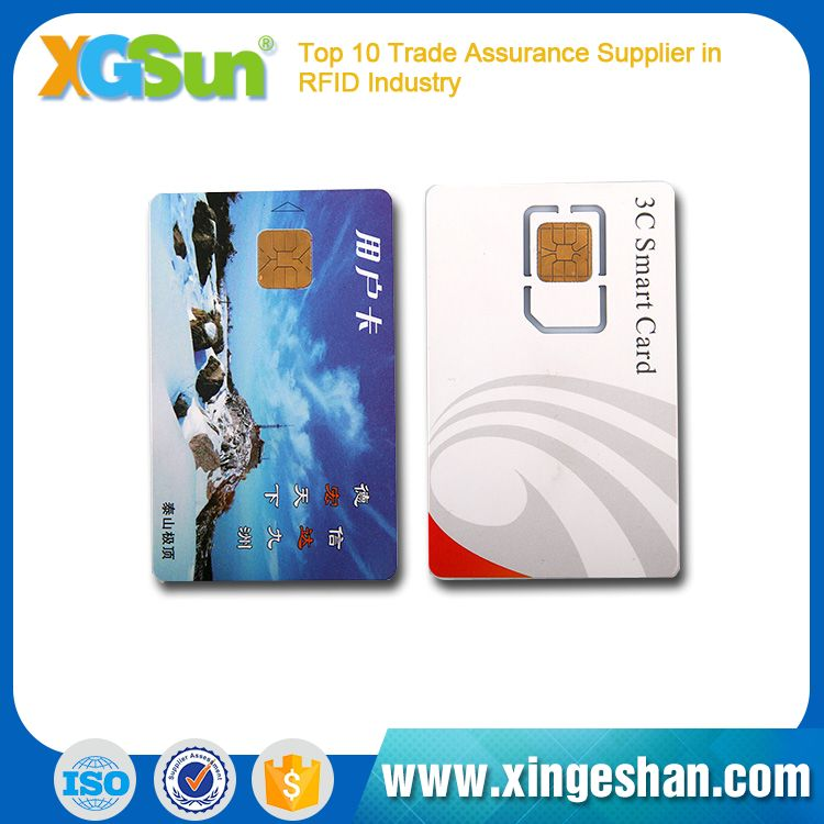 Good Performance Top Quality Pvc Rfid Smart Chip Contactless Card