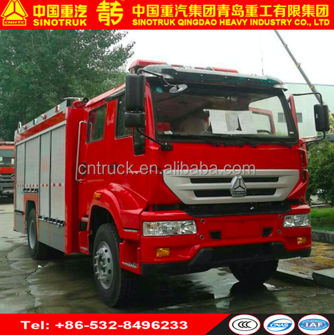 Hot sale SINOTRUK Airport foam fire fighting truck