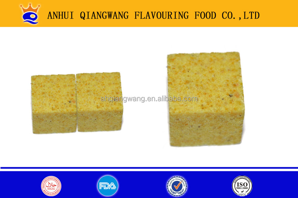 4G*20CUBES*80SACHETS PACKING CHICKEN FLAVOR SOUP CUBE