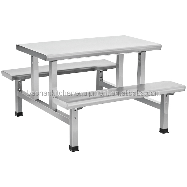 Stainless steel canteen tables and chairs BN-W25