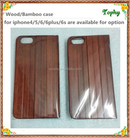 Shen zhen Hot Selling Wood Design Flip Cover Smart Cell Phone Case for iphone 6 book style