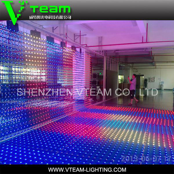 Flexible LED Curtain Display/soft video background led curtain, transparent led curtain display mesh screen panel