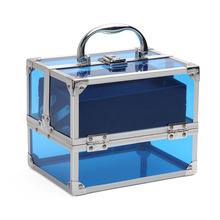 Alibaba New Vendor More than 18years Made in China Expcerience Aluminum Acrylic Makeup Train Case