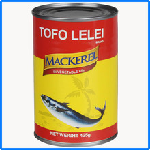Wholesale Canned jack mackerel in brine manufacturer
