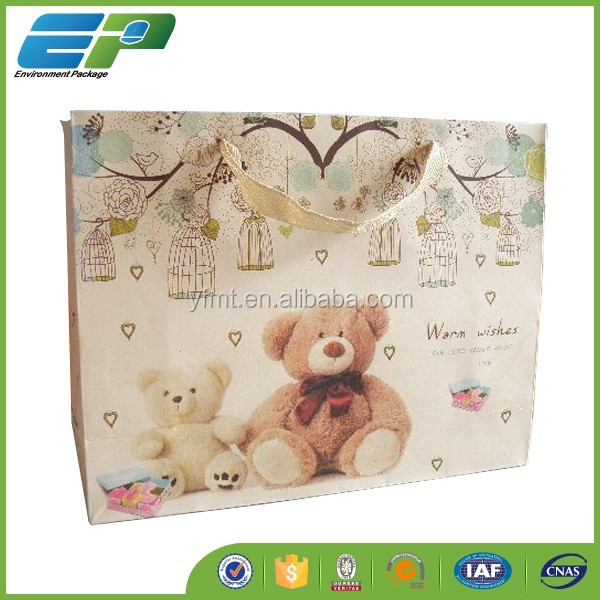 2015 Cheap Printed Shopping Bags with Company Logo