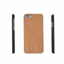 Custom Design Wholesale maple wooden Cell Phone Case For Iphone 6 Case