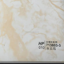 marble craft paper laminated embossed PVC film