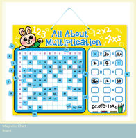 E1015 hot sell wholesales top quality for Kindergarten magnetic learning multiplication resources