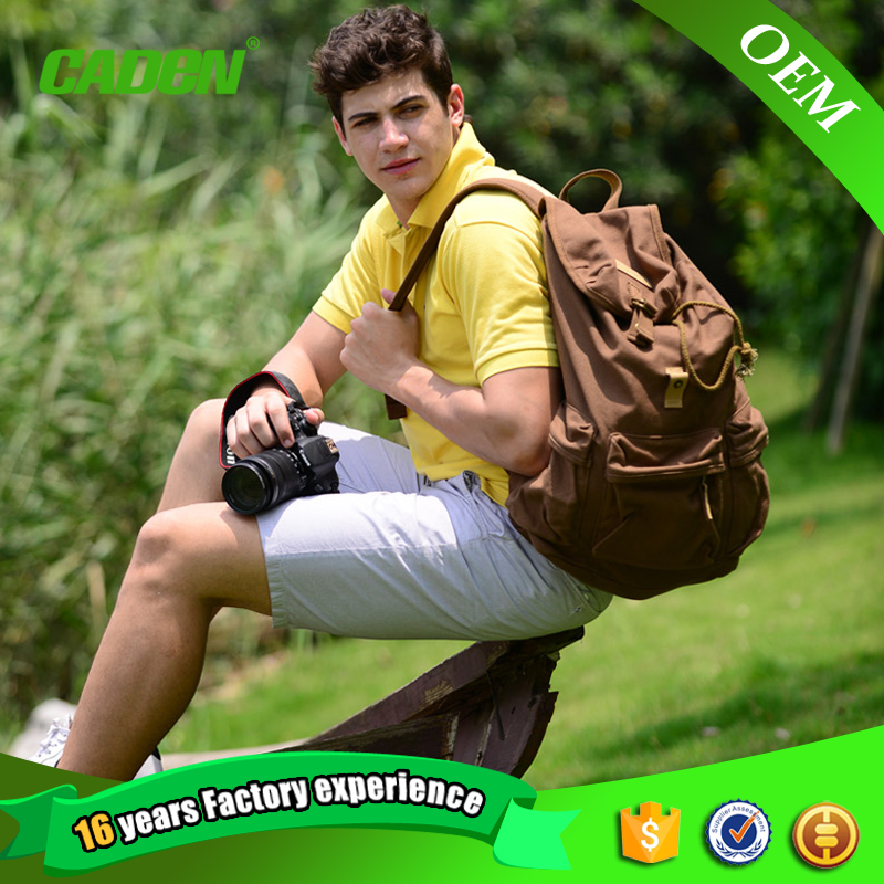 High quality college students school outdoor travel sport bags for men