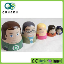 china wholesale wooden doll handicraft