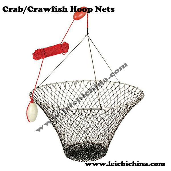 Wholesale Hoop Nets Crab Crawfish fishing nets