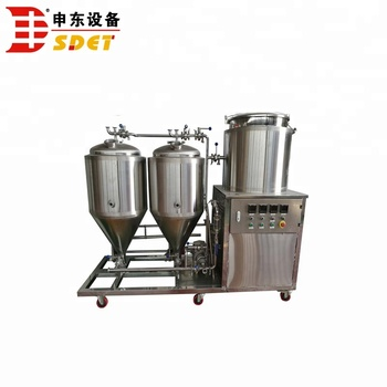 50L homebrew mini brewery equipment, micro home brewing equipment