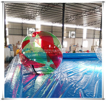 Funny Inflatable water walking ball with pool, floating water pool ball