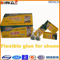 Flexible Glue for Shoes rubber in plastic bottle Fast setting