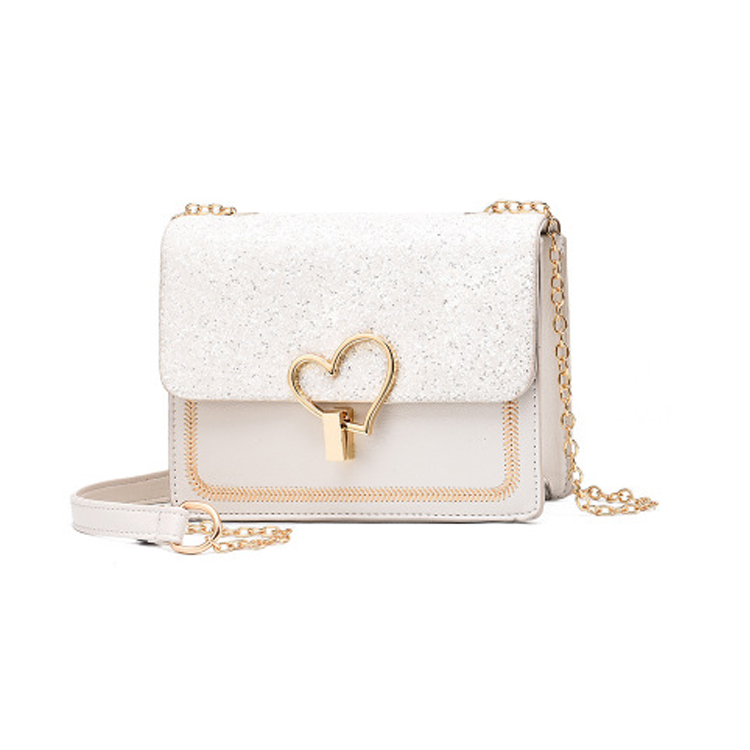 2019 <strong>manufacturers</strong> top chain bags women chain paillette handbags ladies with paillette sequin decoration