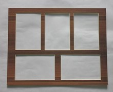 bevel cut matboard for picture frame/double layer mount board
