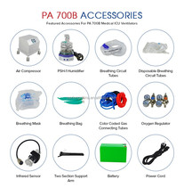Ambu bag PVC resuscitator portable emergency ventilator PA-700B (STANDARD & ADVANCED MODEL)