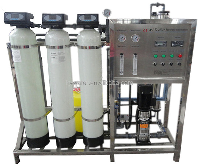 kyro-500lph CE approved purification water machine with small ro water treatment plant for drinking