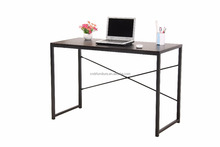 MDF top office desk with steel frame