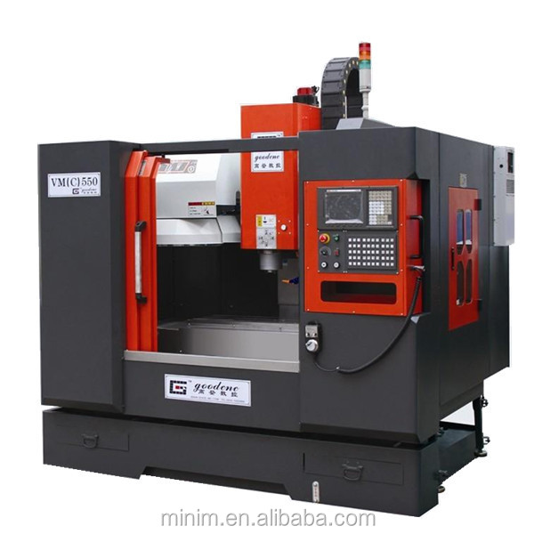 VMC550 box hard guides 3 axis cnc milling machine