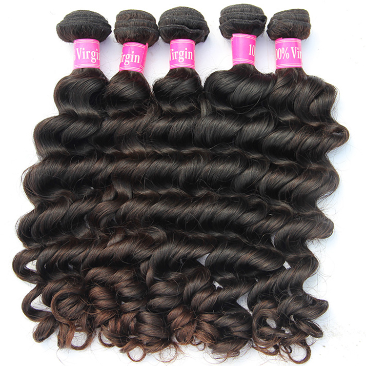 unprocessed 100% virgin human <strong>hair</strong>, 3 pieces natural wave brazilian <strong>hair</strong> bundles