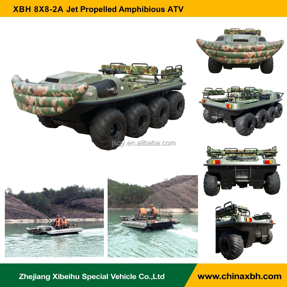 XBH 8X8-2A Jet propelled vehicle Amphibious ATV