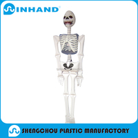 customised promotional pvc inflatable toys, inflatable Skull toy