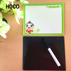 Advertising Crafts Cheap Fridge Magnet Dry Erase Board Paper