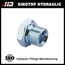 hydraulic bsp male hex plug