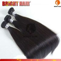 Hair extensions 100% unprocessed ombre color red human hair weaving