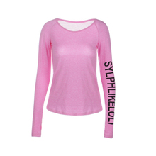 Custom design GYM Women Yoga tops / running shirts / fitness sports wear