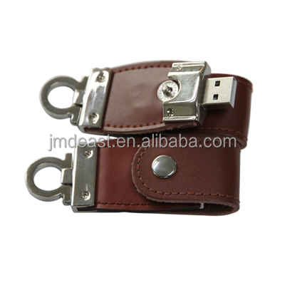 high speed personalized new leather usb flash drive with custom logo for free