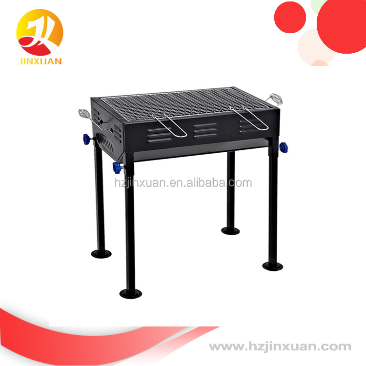 Custom Outdoor Camping Picnic Cooking BBQ Grill, Charcoal Portable Barbecue Grills with cheapest price professional bbq supplier