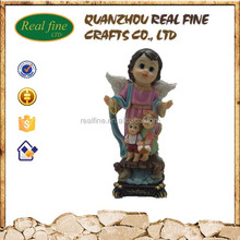 Wholesale famous Christmas Guarding religious resin baby angel statue
