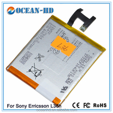 battery for phone for Sony LIS1502ERPC for Sony Ericsson Xperia L36H