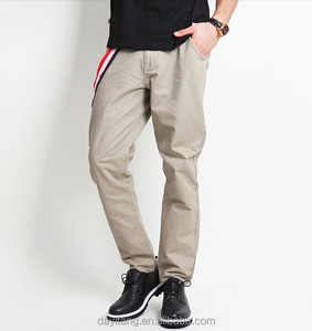 mens summer casual long pants