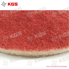 KGS Diamond Flexis floor grinding and polishing pads for single head machine