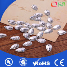 New design resin crystal acrylic sewing stone