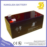 storage UPS lead acid battery 12v 3.3ah with high quality
