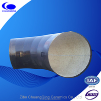 Alumina Ceramic lining for Pipeline High Abrasion Resistant